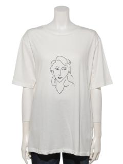 アートフェイスTシャツ