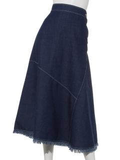 【Radicle】フリンジデニムスカート