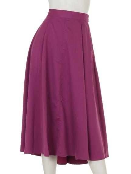 Bou Jeloud (ブージュルード) フィッシュテールカラースカート パープル
