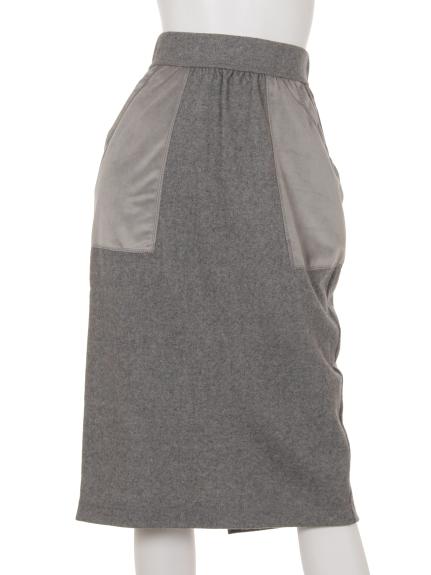 Bou Jeloud (ブージュルード) スカート グレー