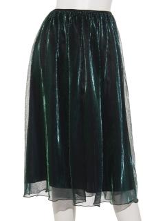 オーロラチュールスカート