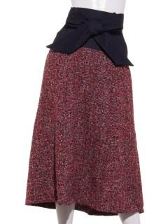 ツィードイソザイミックススカート