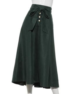 カラーフレアースカート
