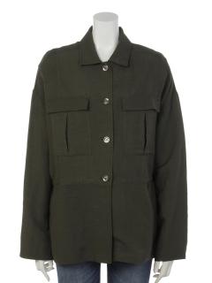 サファリシャツジャケット