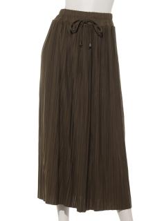 プリーツリラックススカート