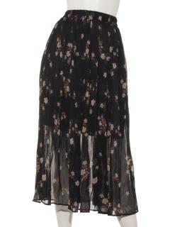 ハナガラプリーツスカート
