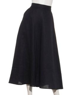 フレンチリネンワンピーススカート