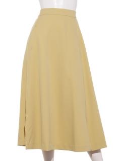 カラースリットスカート