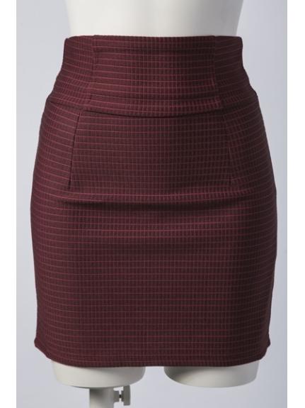 LIP SERVICE (リップサービス) HWバンデージスカート ワイン