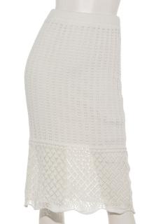 Summerクロシェスカート