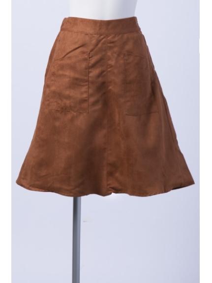 MAX DOUBLE NAME (ダブルネーム) スカート オレンジ