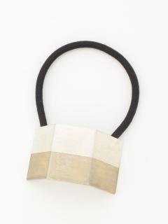 メタルプレートヘアゴム