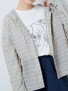 フード付きBIGシャツ