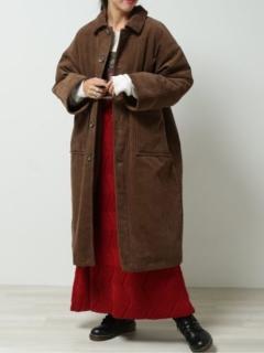 中綿キルティングコート