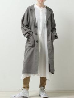 ゆる綿麻コート