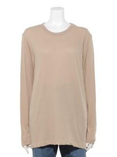 長袖Tシャツ強撚コットン製品洗い