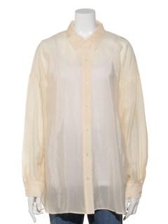 GlossySheerシャツ