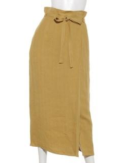 ヘリンボンラップ風スカート
