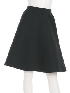 ゴム編みフレアスカート