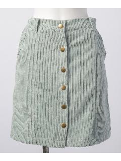 太コール前ボタンスカート