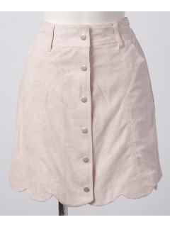 スカラップ台形スカート