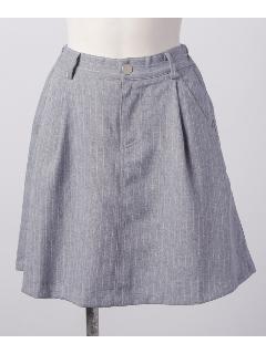 台形デニムスカート