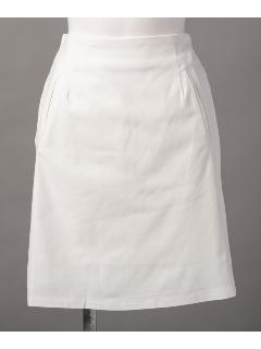 スパン無地台形スカート