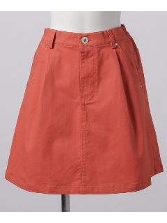ストレッチツイル台形スカート