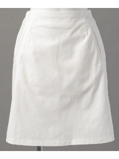 ウエストゴム台形スカート