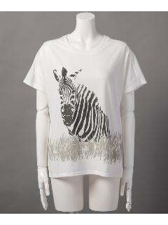 半袖Tシャツ(シマウマpt)