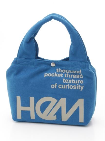 HeM (ヘム) ミニカイトートバッグ ブルー