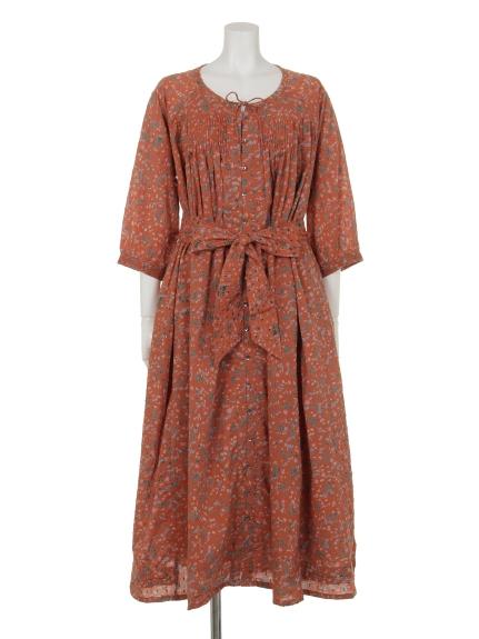 79%OFF artipur (アルティプール) レディース フラワードットプリントドレス オレンジ M