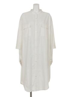 チェックドビーシャツドレス