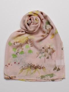 シルクモダール花柄ストール