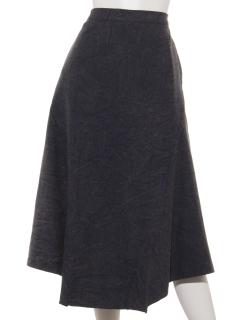 ストーンウォッシュスカート
