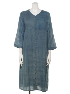 カディストライプドレス