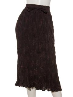 OCクリンクルプリントスカート