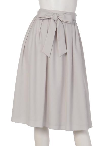Aylesbury (アリスバーリー) ツイルタックギャザースカート グレー