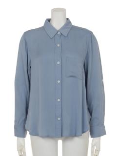 サイドスリットシャツ