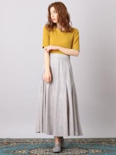 キラキラAラインスカート