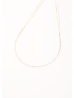 ギザギザ2連ネックレス