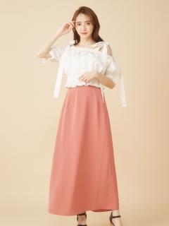 シンプルAラインスカート
