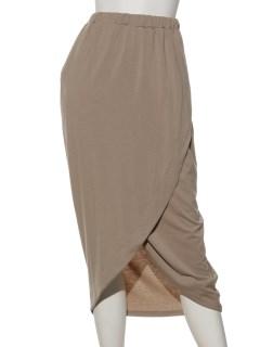 カットロングラップスカート