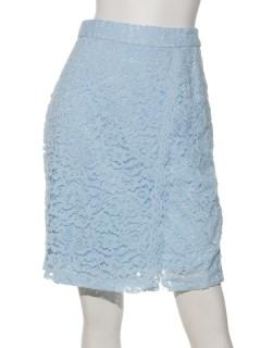 レーススカラップタイトスカート