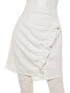 サマーツィードフリルラップスカート