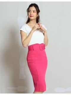 ベルト付ポンチスカート