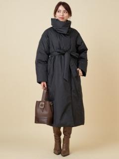 BIGカラー中綿ロングコート