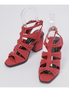 グラディエーターヒール靴