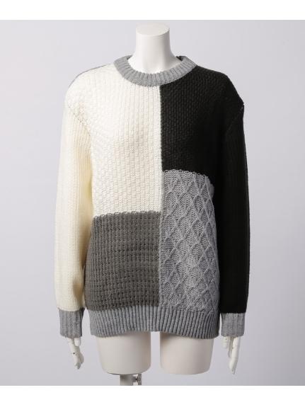 SPIRALGIRL (スパイラルガール) セーター ブラック