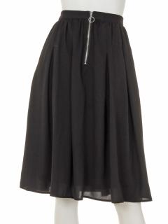 フロントZIPスカート